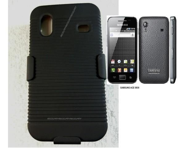 Holster clip funda samsung galaxy ace s5830 accesorios para celulares - Fundas samsung ace ...